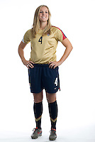 Cat Whitehill. U.S. Women's National Team portrait photoshoot. June 8, 2007 in Carson, CA.