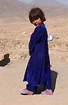 Paghman, Afghanistan; October 24, 2002 -- Child, girl from rural area; People, Portrait -- Photo: © HorstWagner.eu