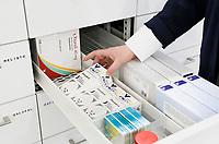 Nederland Zaandam 2017. Zorgboulevard bij het Zaans Medisch Centrum. Geneesmiddelen bij de Zaan Apotheek.  Foto Berlinda van Dam / Hollandse Hoogte