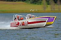 "Dave Greenlaw, Jr., JS-99 ""Veri Cheri Too"" and Mike Buturla, JS-712    (Jersey Speed Skiff(s)"