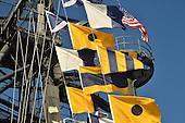 Stock photo of Naval Flags