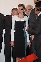 Queen Letizia of Spain visits ARCO Contemporary Art Fair inauguration in Madrid, Spain. February 26, 2015. (ALTERPHOTOS/Victor Blanco) /NORTEphoto.com