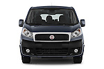 Car photography straight front view of a 2015 Fiat SCUDO EXECUTIVE 5 Door Combi Front View