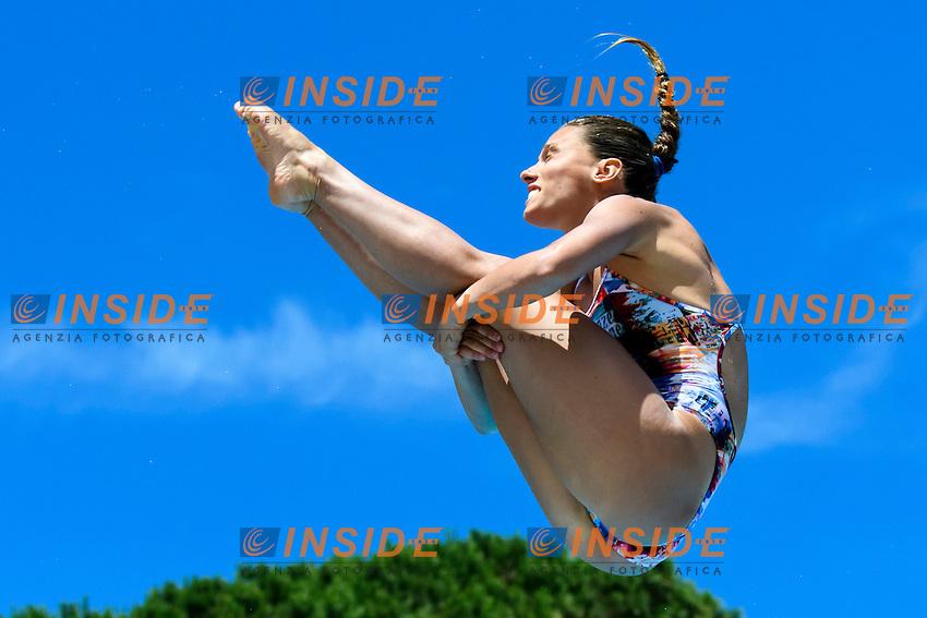 Francesca Dallape' <br /> springboard 3m Women <br /> Roma 21-06-2016 Stadio del Nuoto Foro Italico Tuffi Campionati Italiani <br /> Foto Andrea Staccioli Insidefoto