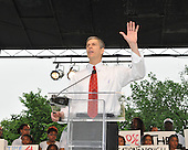 """Washington, DC - May 16, 2009 -- U.S. Secretary of Education Arne Duncan speaks at the """"Close the Gap: Education Equality Day"""" on the White House Ellipse in Washington, D.C. on Saturday, May 16, 2009..Credit: Ron Sachs / CNP.(RESTRICTION: NO New York or New Jersey Newspapers or newspapers within a 75 mile radius of New York City)"""