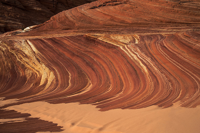 Fatali's Boneyard at North Coyote Buttes contains unusual rocks and sandstone patterns.