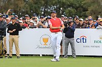 Web Simpson (USA) on the 10th tee during the First Round - Four Ball of the Presidents Cup 2019, Royal Melbourne Golf Club, Melbourne, Victoria, Australia. 12/12/2019.<br /> Picture Thos Caffrey / Golffile.ie<br /> <br /> All photo usage must carry mandatory copyright credit (© Golffile | Thos Caffrey)