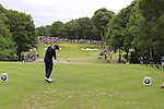 Luke Donald (ENG) tees off on the par3 2nd tee during the Final Day of the BMW PGA Championship Championship at, Wentworth Club, Surrey, England, 29th May 2011. (Photo Eoin Clarke/Golffile 2011)