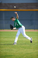 Max Manning (8) of Marin Catholic High School in Larkspur, California during the Baseball Factory All-America Pre-Season Tournament, powered by Under Armour, on January 14, 2018 at Sloan Park Complex in Mesa, Arizona.  (Zachary Lucy/Four Seam Images)