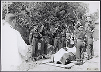 A funeral with military honor. Eresaluut Date: 1956