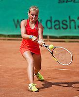05-08-13, Netherlands, Dordrecht,  TV Desh, Tennis, NJK, National Junior Tennis Championships, Finn Joziasse<br /> <br /> <br /> Photo: Henk Koster