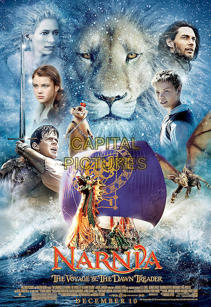 POSTER ART.in The Chronicles of Narnia: The Voyage of the Dawn Treader.*Filmstill - Editorial Use Only*.CAP/FB.Supplied by Capital Pictures.