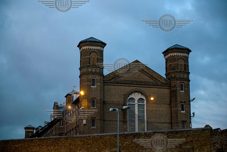Wormwood Scrubs prison in west London.