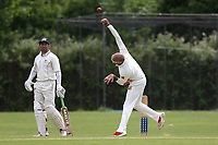 Hiren Desai of Crouch End during Crouch End CC (fielding) vs Waltham CC, ECB National Club Championship Cricket at The Calthorpe Ground on 9th June 2019