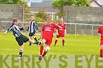6829-6830.Dynamos Eoin Cassidy and St Mary's Paul Feehan..