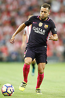 FC Barcelona's Jordi Alba during La Liga match. August 28,2016. (ALTERPHOTOS/Acero) /NORTEPHOTO