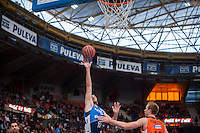 VALENCIA, SPAIN - NOVEMBER 22: Txemi Urtasun, Hamilton during Endesa League match between Valencia Basket Club and Retabet.es GBC at Fonteta Stadium on November 22, 2015 in Valencia, Spain