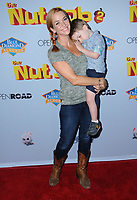 "05 August  2017 - Los Angeles, California - Annie Wersching.  World premiere of ""Nut Job 2: Nutty by Nature""  held at Regal Cinema at L.A. Live in Los Angeles. Photo Credit: Birdie Thompson/AdMedia"