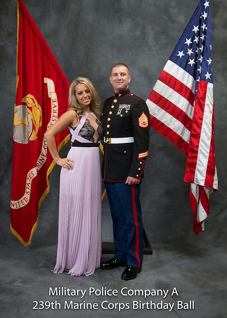 Evan Wray, 239 Marine Ball, Saturday Nov. 15, 2014  in Lexington, Ky. Photo by Mark Mahan