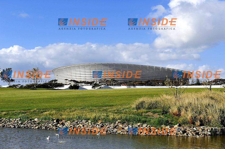 Il Green Point Stadium<br /> Uruguay Olanda 2-3 - Uruguay vs Netherlands 2-3<br /> Semifinale - Semifinal<br /> Campionati del Mondo di Calcio Sudafrica 2010 - World Cup South Africa 2010<br /> Green Point Stadium, Cape Town  06/07/2010<br /> &copy; Giorgio Perottino / Insidefoto