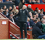Jose Mourinho manager of Manchester United reacts during the English Premier League match at Old Trafford Stadium, Manchester. Picture date: April 16th 2017. Pic credit should read: Simon Bellis/Sportimage