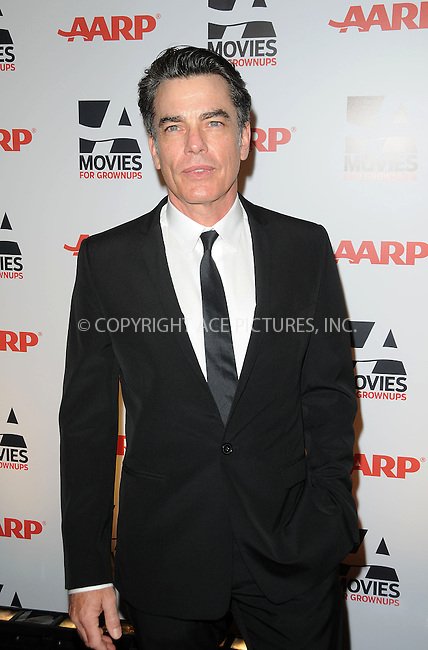 WWW.ACEPIXS.COM . . . . . ....February 7 2011, LA....Actor Peter Gallagher arriving at the AARP Magazine 10th Annual Movies For Grownups Awards at the Beverly Wilshire Four Seasons Hotel on February 7, 2011 in Beverly Hills, CA....Please byline: PETER WEST - ACEPIXS.COM....Ace Pictures, Inc:  ..(212) 243-8787 or (646) 679 0430..e-mail: picturedesk@acepixs.com..web: http://www.acepixs.com