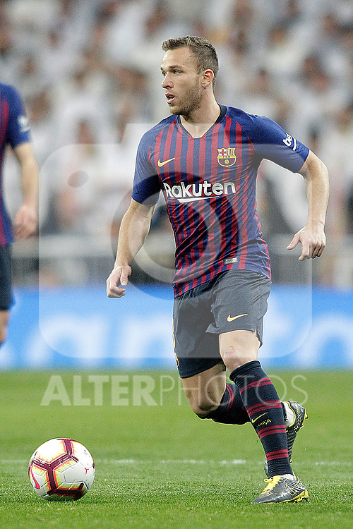 FC Barcelona's Arthur Melo during La Liga match. March 02,2019. (ALTERPHOTOS/Alconada)
