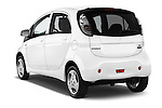 Car pictures of rear three quarter view of 2016 Mitsubishi iMiEV 5 Door Micro Car Angular Rear