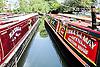 The annual Canalway Cavalcade celebration organised by the Inland Waterways Association. Paddington Basin, London UK 2014