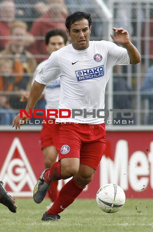 RLN 2007/2008 6. Spieltag Hinrunde<br /> BSV Kickers Emden - Wuppertaler SV Borussia 1:2<br /> <br /> Mahir Saglik (Wuppertal#9)<br /> <br /> Foto &copy; nph (  nordphoto  )<br /> <br /> <br /> <br />  *** Local Caption ***
