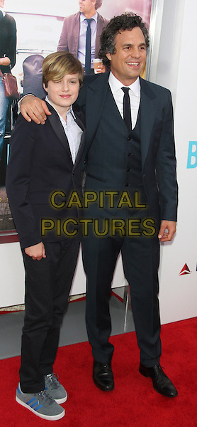NEW YORK, NY - JUNE 25 : Keen Ruffalo and Mark Ruffalo at the Premiere of Begin Again at the SVA Theatre in New York City, June 25, 2014 in New York City.  <br /> CAP/MPI/RW<br /> &copy;RW/ MediaPunch/Capital Pictures