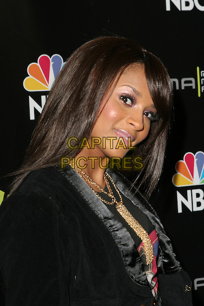 CIARA.2005 Radio Music Awards - Arrivals held at the Aladdin Hotel, Las Vegas, Nevada..December 19th, 2005.Photo: Zach Lipp/AdMedia/Capital Pictures.Ref: ZL/ADM.headshot portrait gold neckalce pink lipstick.www.capitalpictures.com.sales@capitalpictures.com.© Capital Pictures.