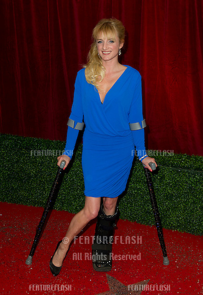 Nicola Wheeler arriving for the 2012 British Soap Awards , LWT Southbank, London..28/04/2012 Picture by: Simon Burchell / Featureflash