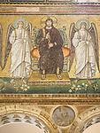 Basilica di Sant'Apollinare Nuevo, 6th century Byzantine mosaics, Ravenna, Italy