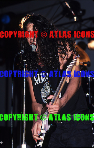 Soundgarden; 1989 Concrete Foundations<br /> Photo Credit: Eddie Malluk/Atlas Icons.com