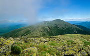 Appalachian Trail - Mount Adams from Gulfside Trail in the White Mountain National Forest of New Hampshire USA.
