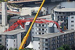 Liverpool Images - Crane Collapse 06.07.09