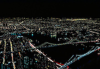 NEW YORK CITY AT NIGHT<br />