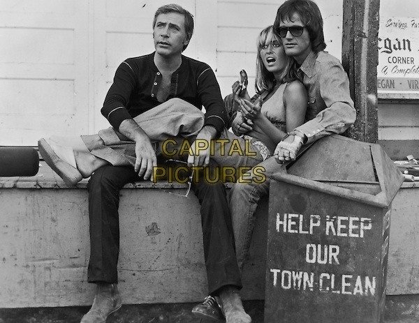 Adam Roarke, Susan George & Peter Fonda.in Dirty Mary Crazy Larry (1974).*Filmstill - Editorial Use Only*.CAP/NFS.Supplied by Capital Pictures.