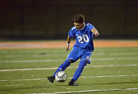 NWA Democrat-Gazette/BEN GOFF @NWABENGOFF<br /> Rogers vs Rogers Heritage soccer Friday, March 17, 2017,  in Gates Stadium at Rogers Heritage.