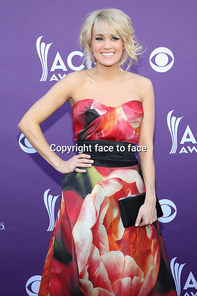 LAS VEGAS, NV - April 7: Carrie Underwood pictured at 48th Annual Academy of Country Music Awards ACM Awards at MGM Grand on April 7, 2013 in Las Vegas, Nevada. ..Credit: MediaPunch/face to face..- Germany, Austria, Switzerland, Eastern Europe, Australia, UK, USA, Taiwan, Singapore, China, Malaysia and Thailand rights only -