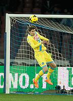 Jorginho  durante l'incontro di calcio di Serie A  Napoli Milan allo  Stadio San Paolo  di Napoli , 08 Febbraio 2014<br /> Foto Ciro De Luca