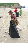 Kylie-ana, Trillium & Kaya On Beach Cleanup