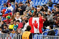 CURITIBA,PR, - 05.07.2017 – RÚSSIA-CANADÁ - Partida entre Rússia (vermelho) e Canadá (branco), jogo válido pela liga mundial de vôlei no estádio Arena da Baixada, em Curitiba nesta quarta-feira (05). (Foto: Paulo Lisboa/Brazil Photo Press)