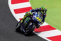 Valentino Rossi of Italy and Movistar Yamaha MotoGP rides during free practice for the MotoGP of Catalunya at Circuit de Catalunya on June 9, 2017 in Montmelo, Spain.(ALTERPHOTOS/Rodrigo Jimenez) (NortePhoto.com) (NortePhoto.com)