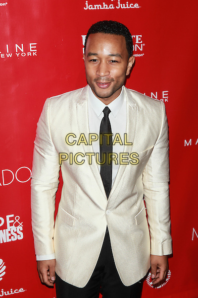 New York, NY- January 31: John Legend at Shape &amp; Men's Fitness Kickoff Party at Cipriani 42nd Street on January 31, 2014 in New York City.  <br /> CAP/MPI/COR<br /> &copy;Corredor99/ MediaPunch/Capital Pictures
