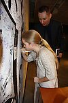 Signy Coleman's daughter Isabella signs the wall - After the show with winners - We Love Soaps presents The 3rd Annual Indie Soap Awards on February 21, 2012 at the New World Stages, New York City, New York.  (Photo by Sue Coflin/Max Photos)