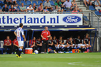 VOETBAL: HEERENVEEN: 02-08-2014, Abe Lenstra Stadion, SC Heerenveen - Levante, oefenduel uitslag 0-1, Trainer/coach Dwight Lodeweges, ©foto Martin de Jong