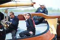 SKUTSJESILEN: WOUDSEND: Hegemer Mar, 02-06-2012, Jubileumwedstrijd Woudsend, Schipper Jaap Zwaga, Ut 'e Striid, SKS skûtsje Langweer, ©foto Martin de Jong