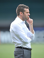 D.C. United Head Coach Ben Olsen.  D.C. United tied The Sporting Kansas City 1-1, at RFK Stadium, Sunday May 19, 2013.